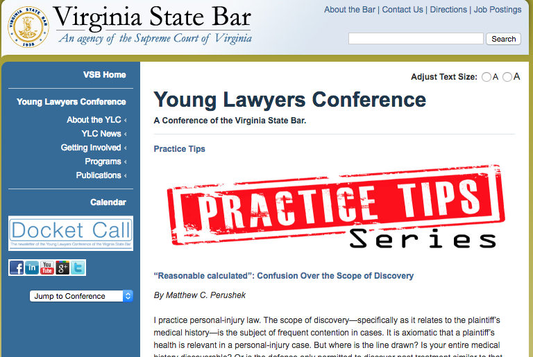 Virginia Injury Lawyer Blog Published By Virginia Injury Attorneys